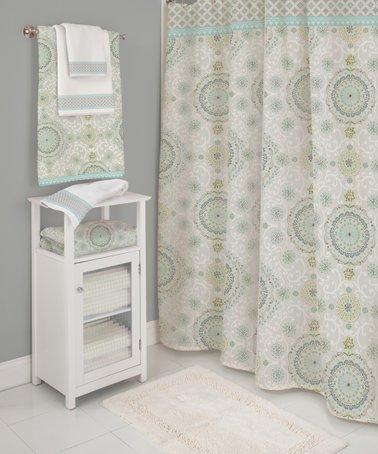 Gray Camden Shower Curtain