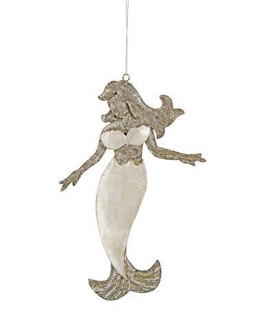 Shimmery Mermaid Ornament