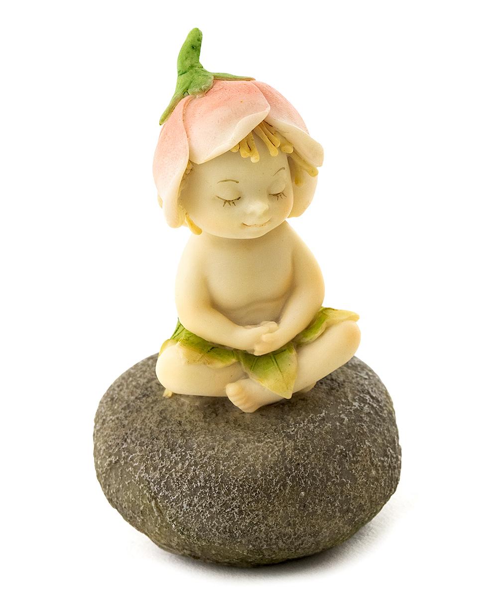 Meditating Garden Sprite Garden Figurine