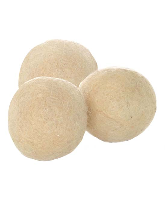 Wool Dryer Balls Wool Dryer Balls. Advance your laundry routine with these all-natural dryer balls that are an effective dryer sheet alternative thanks to a chemical-free design that softens clothes naturally.Includes three dryer balls3.75'' W x 9.875'' H x 3'' DWool