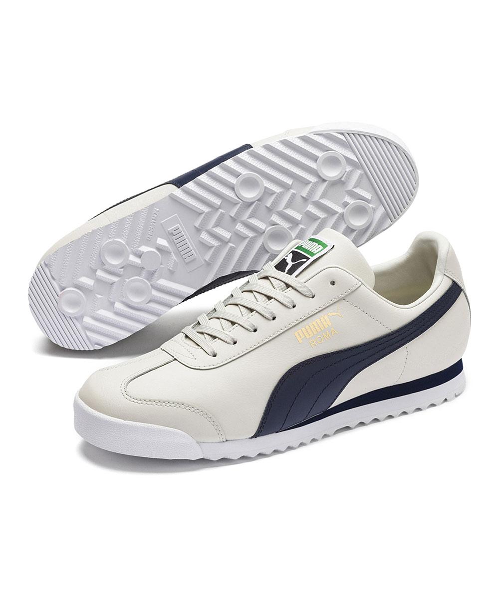 PUMA Men's Sneakers Glacier - Glacier Gray & Peacoat Roma Classic Sneaker - Men