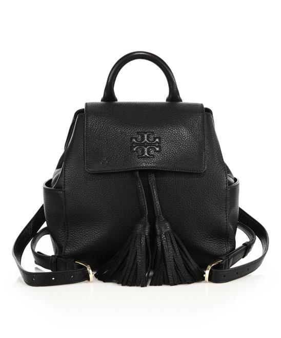 b70b5e54c04 Tory Burch Black Thea Mini Backpack