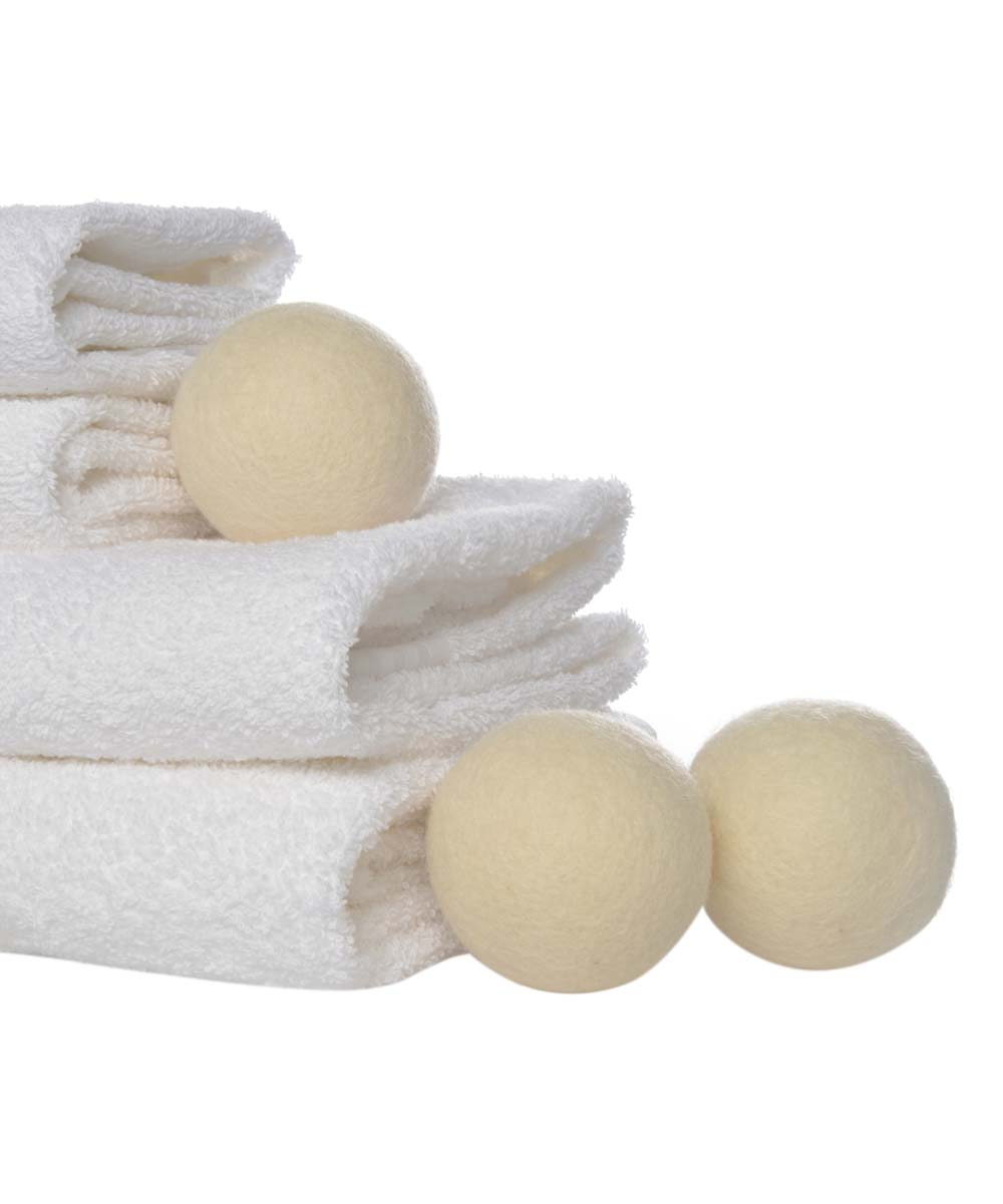 Daisy's Wool Dryer Ball - Set of Three Daisy's Wool Dryer Ball - Set of Three. Replace your dryer sheets with these wool balls that offer a reusable solution to soften your clothes and reduce static. Includes three dryer balls WoolImported