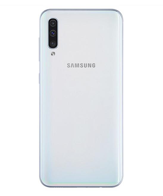 Samsung White Galaxy A50 LTE Phone