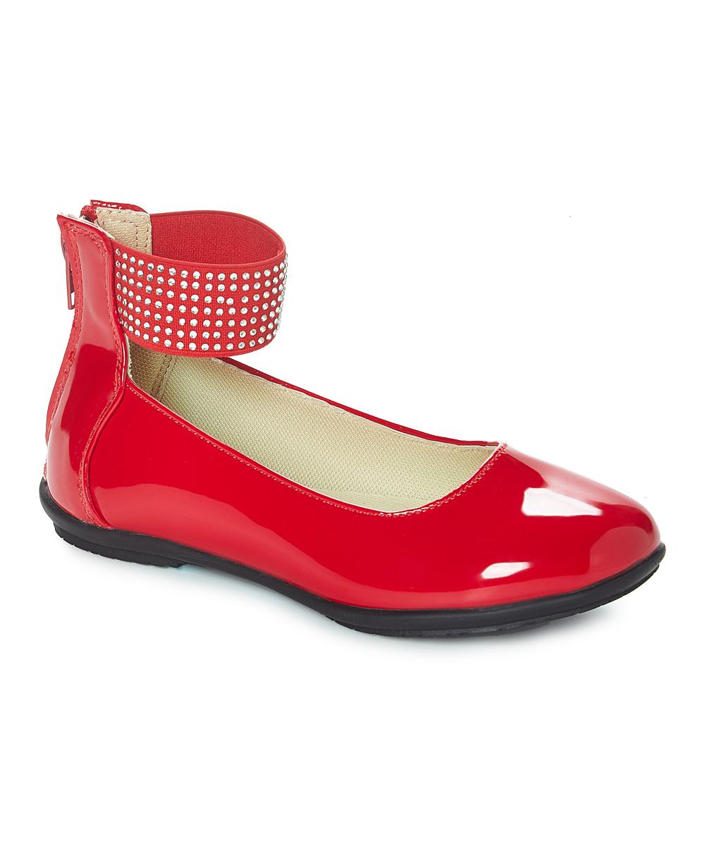 3eb88a303cb40 Easy Strider Red Ballet Flat - Girls