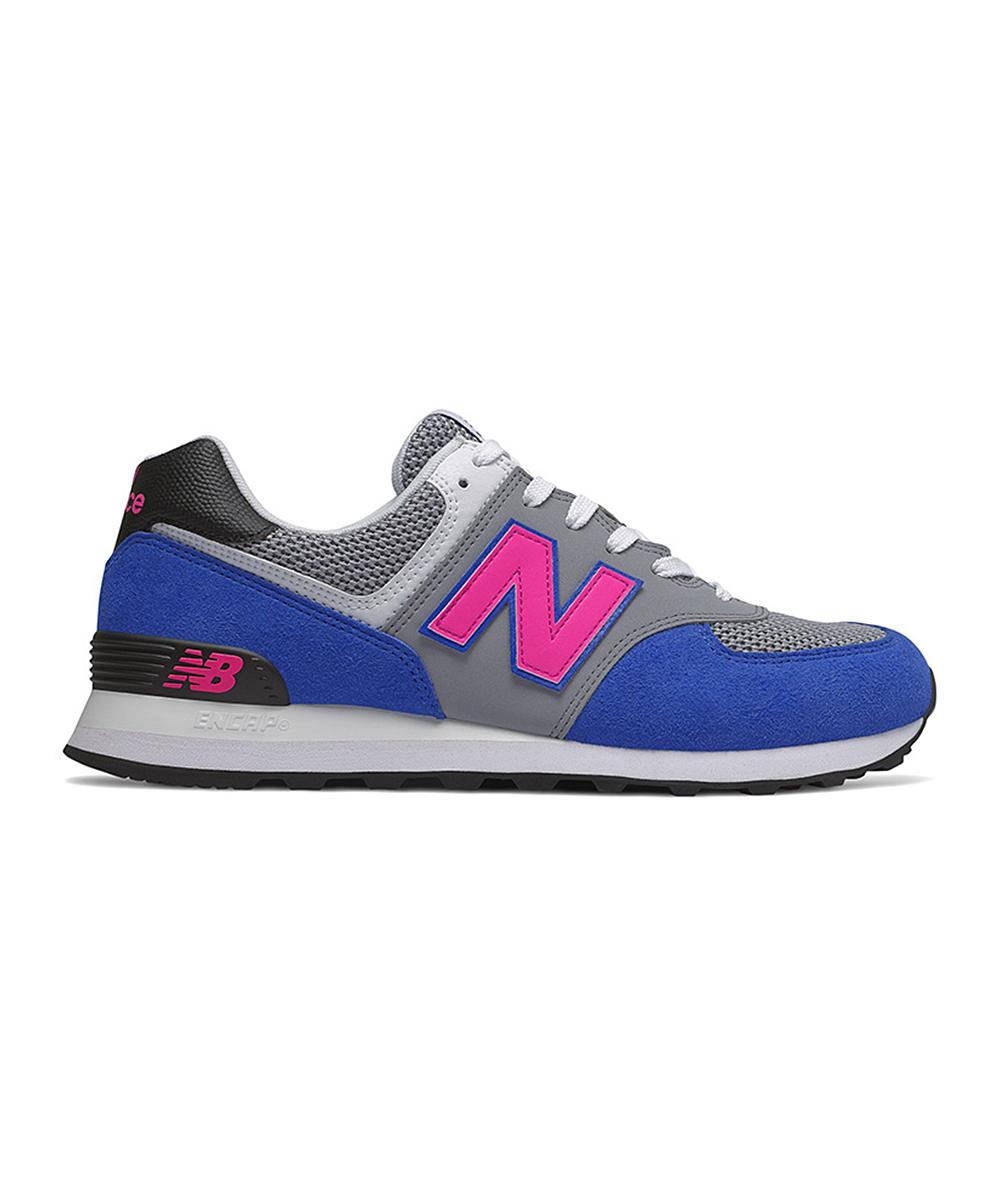 New Balance Men's Sneakers  - Blue & Pink ML574PWA Running Shoe - Men