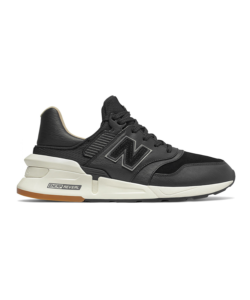 New Balance Men's Sneakers  - Black Multicolor 997 Sport Running Shoe - Men