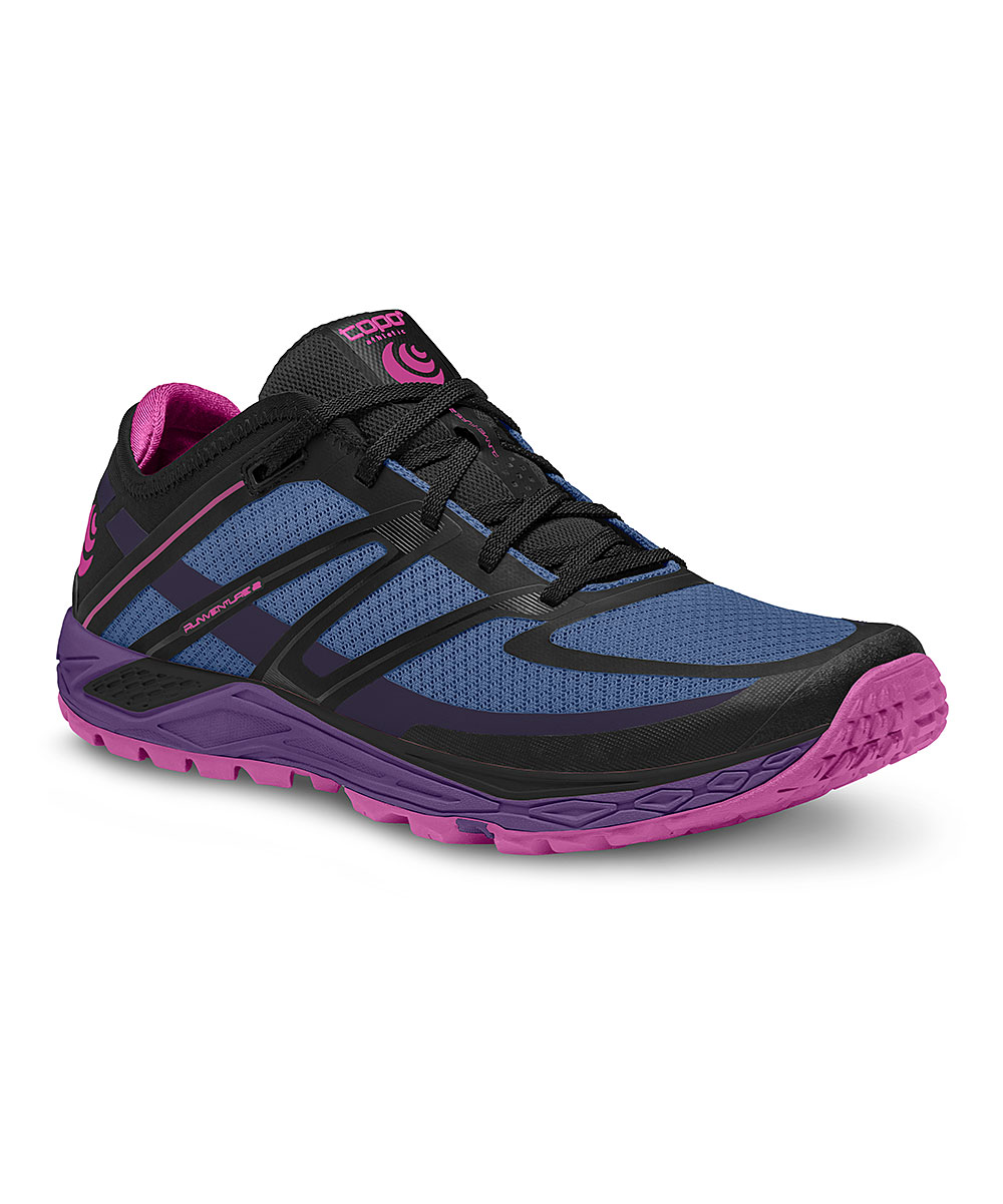 Topo Athletic Women's Running Shoes Stone - Stone & Plum Runventure 2 Running Shoe - Women