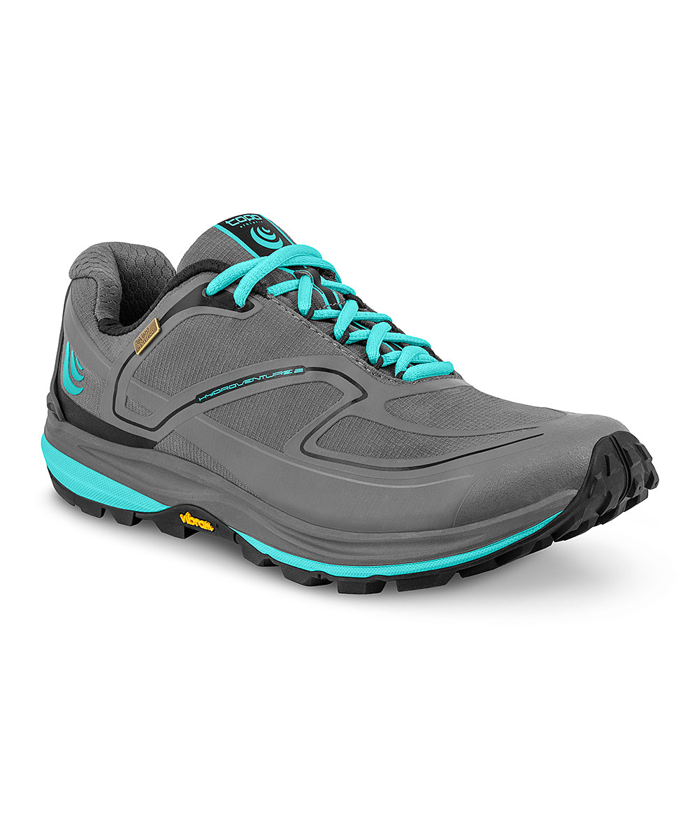 Topo Athletic Women's Running Shoes Charcoal - Charcoal & Sky W-Hydroventure 2 Running Shoe - Women
