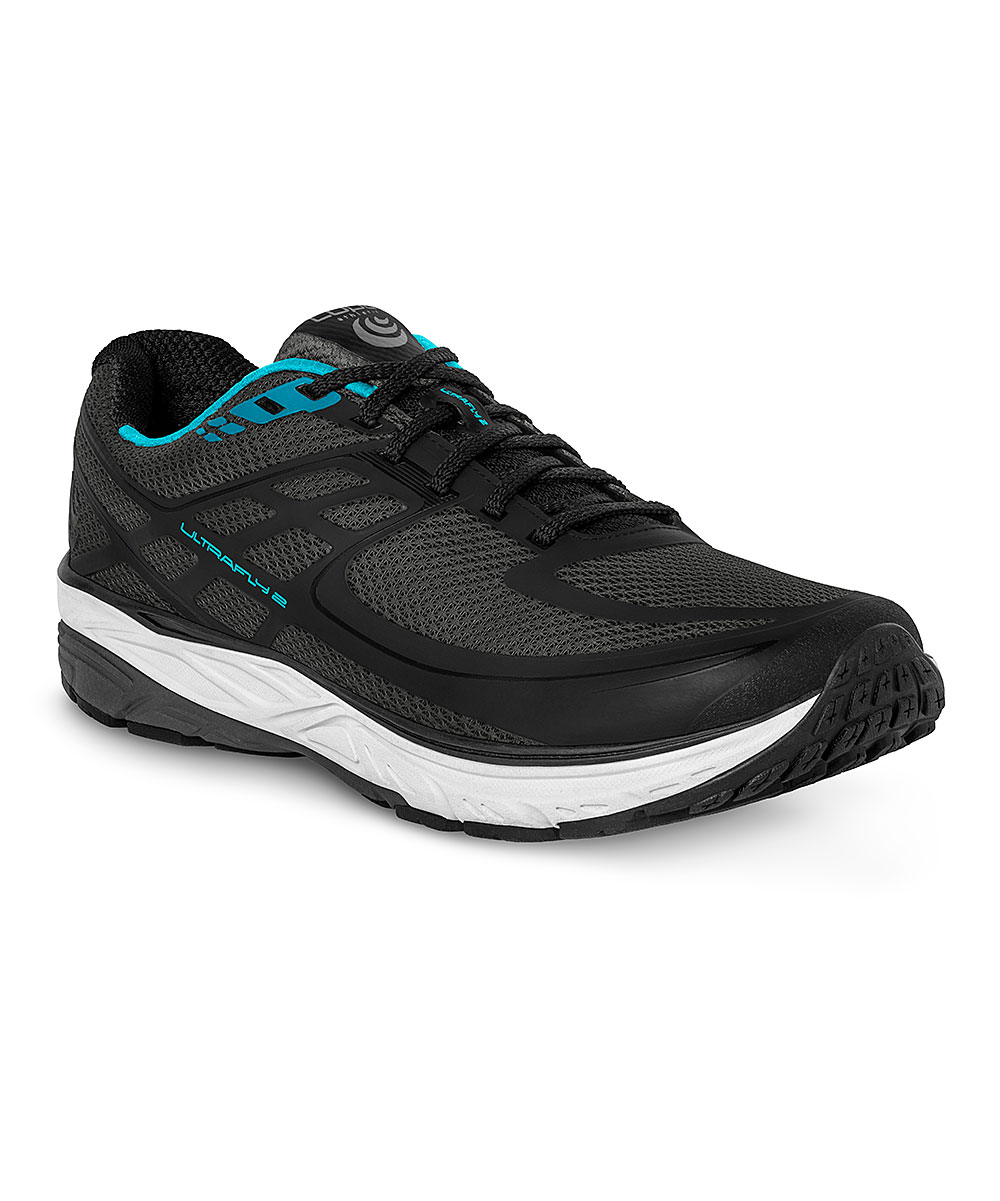 Topo Athletic Women's Running Shoes Black - Black & Blue W-Ultrafly 2 Running Shoe - Women