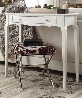 Beautiful White Chilton Console Table