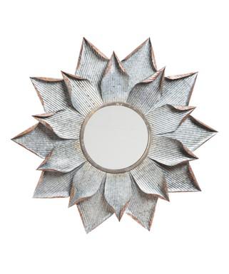gray wall mirror black cape craftsmen layered flower wall mirror decorative mirrors