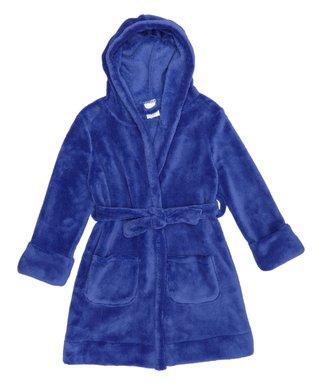 Royal Blue Fleece Hooded Robe - Toddler   Kids 20e99e35c