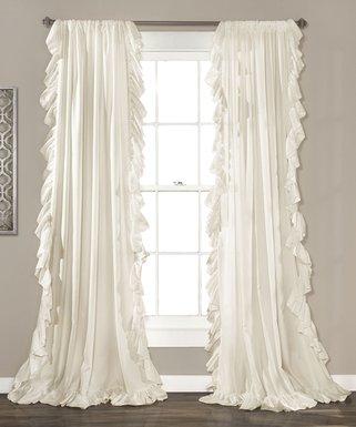 Ivory Reyna Curtain Panel