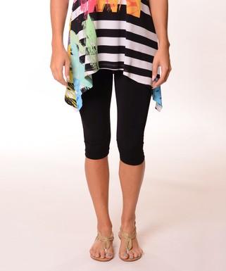 206fc0e8926 Black Capri Leggings - Women   Plus