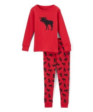 red moose pajamas infant toddler kids - Toddler Christmas Pajamas