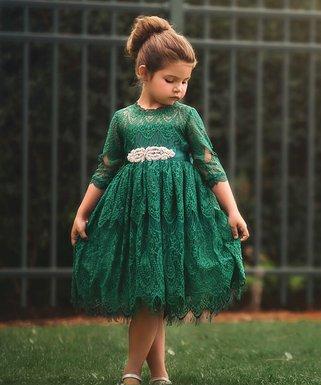 trish scully child emerald bella rafaella dress infant toddler girls