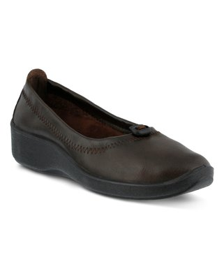 7a7b6fe002 Patrizia by Spring Step | Dark Brown Kenda Slip-on Wedge - Women