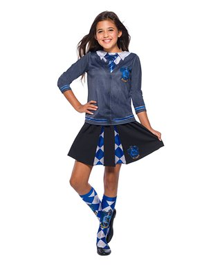 Exceptional Harry Potter Ravenclaw Costume Top   Girls