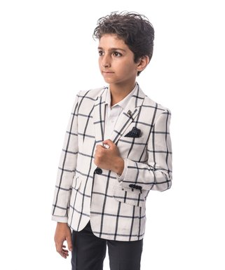 530670587 Boys' Blazers - Smart Suits & Snappy Jackets for Little Lads