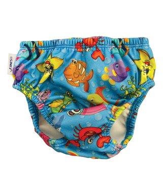 99d47805c3 Blue Fishbowl Swim Diaper - Kids