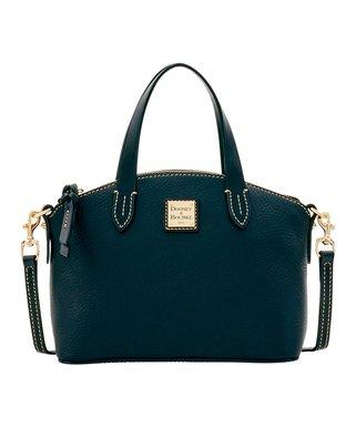 Black-on-Black Ruby Leather Handbag edb07930cb