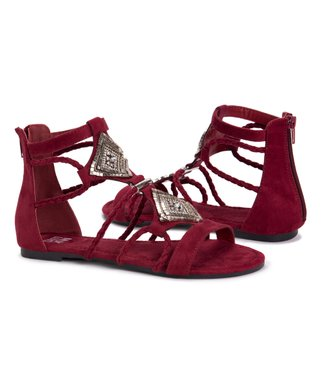 2a41abe4ecb6 Red   Silver Rosa Gladiator Sandal - Women