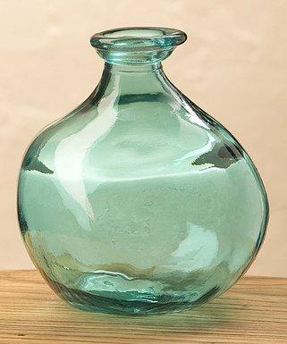 Vases Glass Metal Decorative