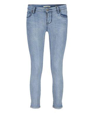 5d4eede5c Light Blue Crop Camden Skinny Jeans - Women & Plus
