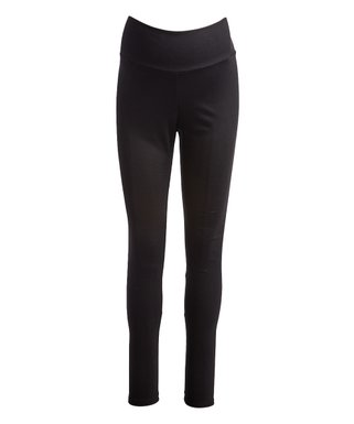 25aa774965a6d Due Time Maternity | Black Ponté Maternity Leggings