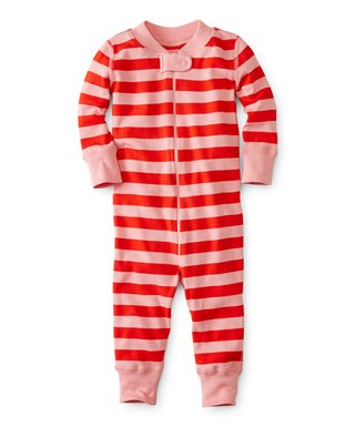 hanna andersson perfect pick tangy red night night baby organic cotton playsuit newborn - Maternity Christmas Pajamas