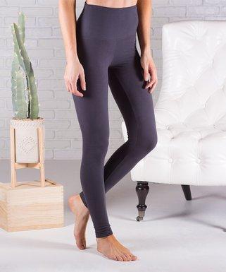 48b744d52f411 Contagious | Charcoal Ultrasoft Tummy Control High-Waist Leggings - Women