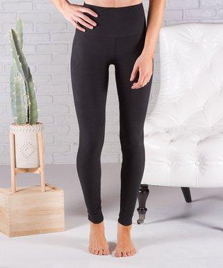 f94c09ebd667f Black Ultrasoft High-Waist Leggings - Women