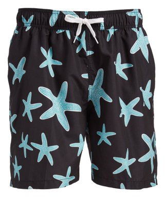 e314f3f3a82 Kanu Surf | Black Starfish Swim Trunks - Men