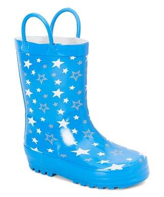 59f077091e069 Shocked | Blue Star Rain Boot - Boys