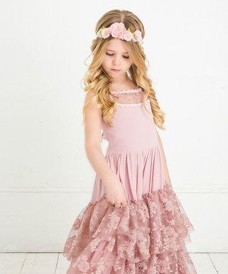 ccd3140d7be3 Dusty Rose Skylar Dress - Infant, Toddler & Girls