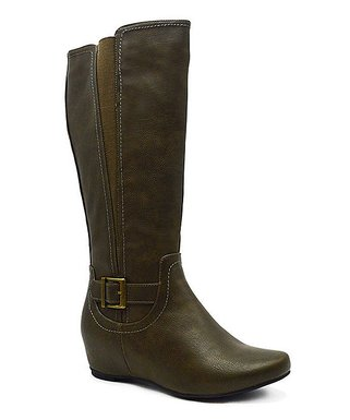 d38af95892a8 Olive Amar Wide-Calf Boot - Women