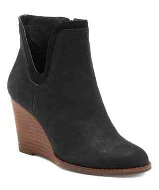 Lucky Brand | Black Yenata Leather Ankle Boot - Women