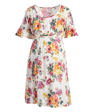 Maternity Dresses - Dress Your Bump in Colorful Comfort at zulily b36e0662c