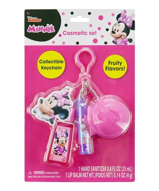 dc6e77e65 Minnie Pompom Keychain Set