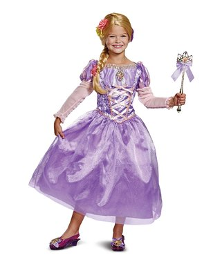 Beautiful Disney Rapunzel Deluxe Costume   Toddler U0026 Girls