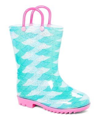 c17ab0e0a8aa Mint Scales Rain Boot - Girls