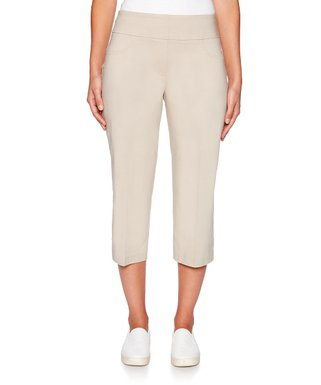 05f8a641e0f4ae Chino Pull-On Capri Pants - Women & Plus