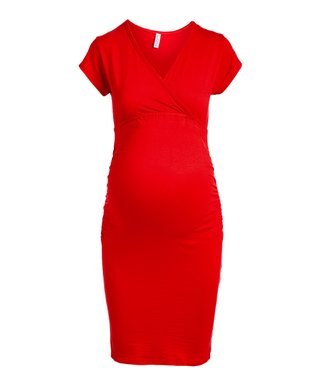 eb646cebc92 Maternity Dresses - Dress Your Bump in Colorful Comfort at zulily