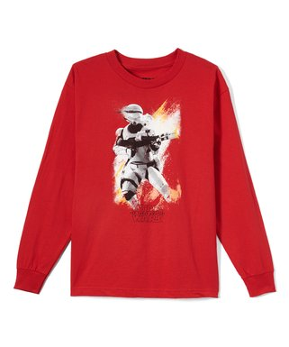 c39c5471b09a Life's Bargains | Star Wars The Force Awakens Red Stormtrooper Long-Sleeve  Tee - Boys