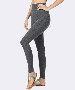 51c0d7005 Charcoal Tummy-Control High-Waist Leggings - Women   Plus