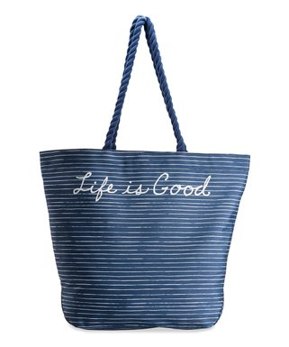 Darkest Blue Small Carry-All Beach Bag a78b565664d14