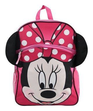 90cee5f3ba Minnie Mouse Pink Backpack