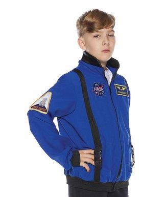 NASA Blue Astronaut Costume Jacket   Boys