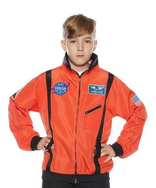 NASA Orange Astronaut Costume Jacket   Boys
